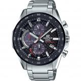 Afbeelding van Casio Edifice EFS S540DB 1AUEF horloge herenhorloge Grijs,Rood,Zilverkleur,Zwart