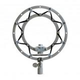 Afbeelding van Blue Ringer Shockmount Silver voor SnowBall microfoon