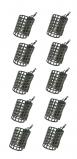 Abbildung von 10 NGT Metal Cage Futterkörbe (15, 20 oder 25 Gramm)
