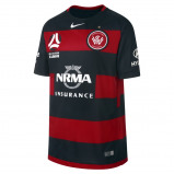 Abbildung von 2017/18 Western Sydney FC Stadium Home Older Kids' Football Shirt Red