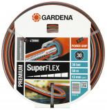 Afbeelding van Gardena Premium SuperFlex Tuinslang 50 m Grijs/Oranje
