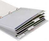 Afbeelding van indextabs 3l 10513 12x40mm zelfklevend wit