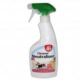 Abbildung von Kerbl Abwehr und Reinigungsspray WASH & GET OFF 500ml