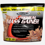 Image of 100% Premium Mass Gainer by Muscletech 5455 grams (16 shakes) Strawberry