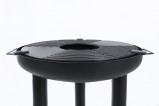 Afbeelding van BBGRILL BBQ Plancha grill staal zwart
