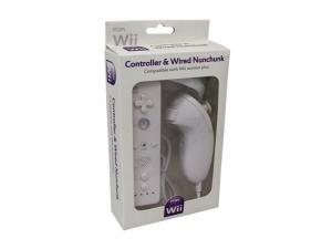 """Bild av """"Remote Plus kontroll för Wii U & Nunchuck Vit"""""""