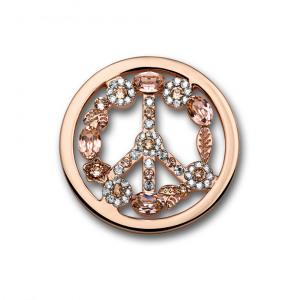 Afbeelding van Mi Moneda SW PEA 28 L Peace Light Pink Munt