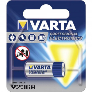 Afbeelding van V23GA alkaline batterij 12 V 50 mAh 1 blister