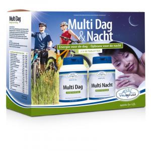 Afbeelding van Vitakruid Multi Dag & Nacht 2 X 90 tabletten, 2x90 stuks