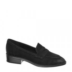 Afbeelding van 5th Avenue leren loafers zwart