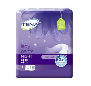Afbeelding van Tena Silhouette Lady Pants Night Large 7 stuks