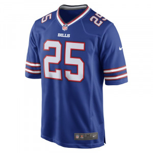 Image of NFL Buffalo Bills Game Jersey (LeSean McCoy) Men's American Football Jersey Blue