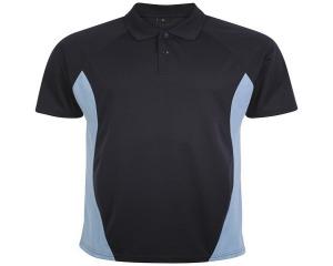 Image of Airosportswear Matchday Polo Navy/Sky