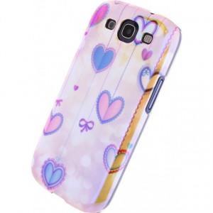 Afbeelding van Xccess Oil Cover Samsung Galaxy SIII I9300 Hearts