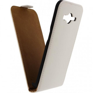 Afbeelding van Mobilize Ultra Slim Flip Case Samsung Galaxy Core II White