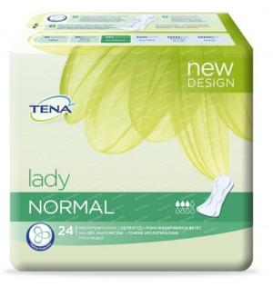 Afbeelding van Tena Lady Discreet Normal, 24 stuks