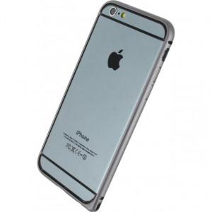 Afbeelding van Rock Arc Slim Guard Bumber Apple iPhone 6 Grey