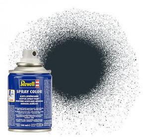 Billede af (09) Spray Color, Anthracite mat (RAL 7021) 100 ml Revell