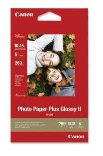 Billede af Canon high glossy fotopapir 10x15cm, 260g, 5 ark (2311B053)