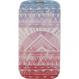 Afbeelding van Xccess Book Stand Case Samsung Galaxy S4 I9500/I9505 Aztec Pink Xcce