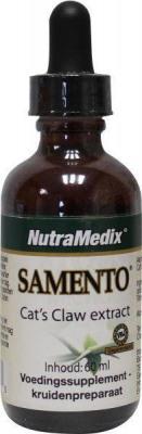 Afbeelding van Nutramedix Samento Cat's Claw Toa vrij (60ml)