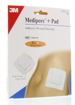 Afbeelding van 3m Medipore 10 X Cm Zelfklevend Wonderband, 5 stuks
