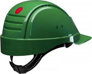 Afbeelding van 3M Peltor G2000DUV GP Veiligheidshelm met pinlock Groen Leren sweatband
