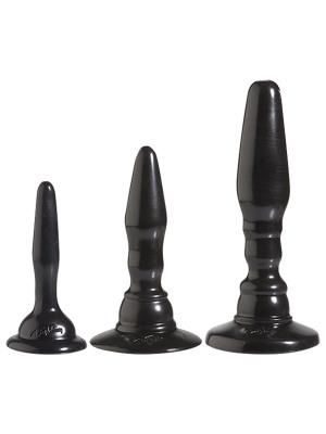 Abbildung von 3 teiliges Anal Kit in Schwarz