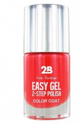 Afbeelding van 2b Nagellak easy gel 2 step polish 505 crazy papaya 1 Stuk