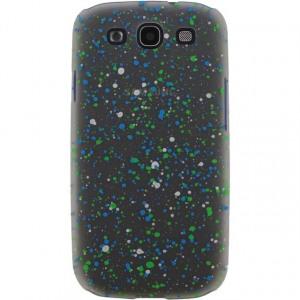 Afbeelding van Xccess Cover Spray Paint Glow Samsung Galaxy SIII I9300 Green