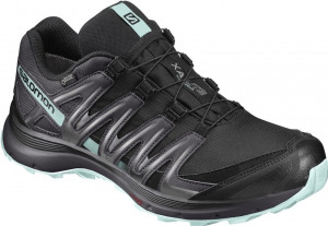 Salomon Shoes XA Lite3 GTX black aqua Wandelschoenen