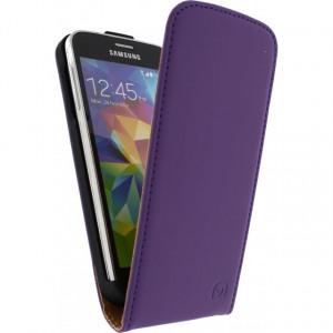 Afbeelding van Mobilize Ultra Slim Flip Case Samsung Galaxy S5 Mini Purple