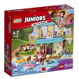 Afbeelding van 10763 LEGO® Juniors Stephanie's huisje aan het meer