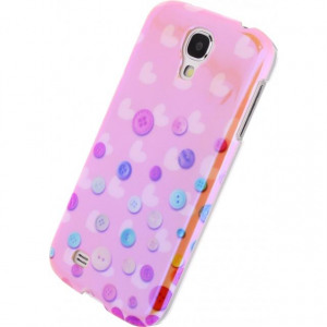 Afbeelding van Xccess Oil Cover Samsung Galaxy S4 I9500/I9505 Buttons