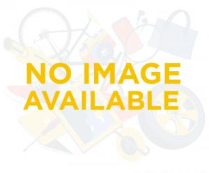 Afbeelding van 2 vaks cross over schoudertas ritstas Soft Zwarty rood