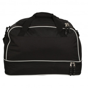 Image of Large Airosportswear Players Holdalls Black/Silver