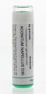 Afbeelding van Homeoden Heel Aconitum napellus D30 (6 gram)