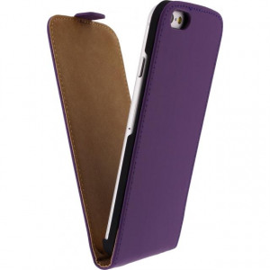 Afbeelding van Mobilize Ultra Slim Flip Case Apple iPhone 6/6S Purple