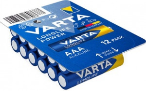 Afbeelding van 1x24 Varta High Energy AAA LR3 Ready To Sell Tray Big Box