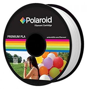 Afbeelding van 3D Filament Polaroid 1.75mm PLA 1kg wit Printers