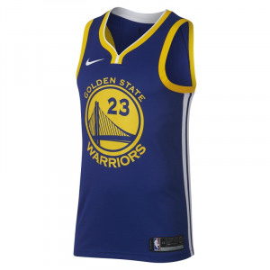 Image of Draymond Green Icon Edition Swingman (Golden State Warriors) Men's Nike NBA Connected Jersey Blue