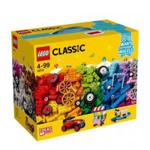 Afbeelding van 10715 LEGO® Classic stenen op wielen