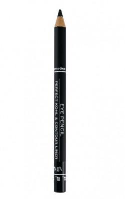 Afbeelding van 2b Oogpotlood eye pencil long lasting 01 black 1 Stuk