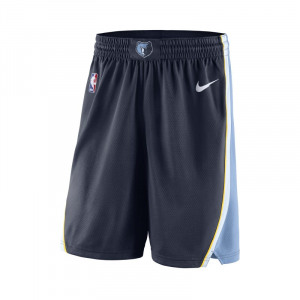 Image of Memphis Grizzlies Nike Icon Edition Swingman Men's NBA Shorts Blue