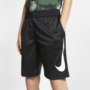 Image of Nike Dri FIT Older Kids' (Boys') Basketball Shorts Black
