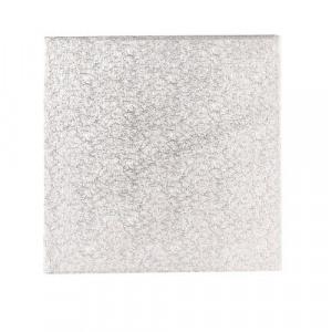 Afbeelding van Cakedrum Zilver Vierkant 50,5cm