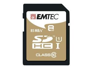 "Bild av ""SDHC 8GB EMTEC CL10 Gold+ UHS I 85MB/s"""