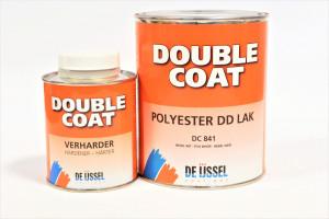 Afbeelding van De ijssel coatings double coat polyester dd lak 0,5 kg, blank, dc008 blik