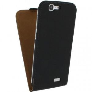 Afbeelding van Mobilize Ultra Slim Flip Case Huawei Ascend G7 Black