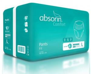 Afbeelding van Absorin Comfort pants fit large tot 145 cm 14 stuks